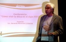 Presidente de Fundación Ética Mundial, visita la UAEH