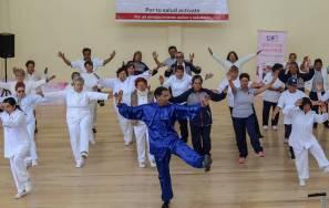 """Promueve DIF municipal y Jurisdicción Sanitaria """"Caminata para una vejez 4"""