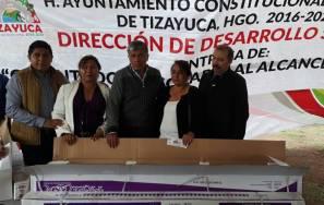 Realiza el alcalde de Tizayuca la segunda entrega de calentadores solares a mitad de precio3