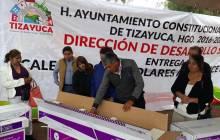Realiza el alcalde de Tizayuca la segunda entrega de calentadores solares a mitad de precio4