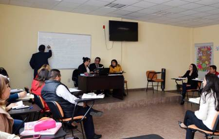 Reciben capacitación nuevos agentes del Ministerio Público