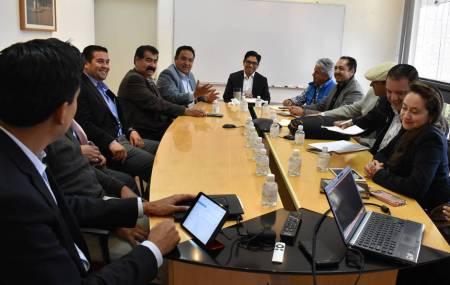 Sostiene titular de la SEDECO reunión con Industriales de Sahagún