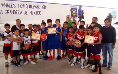 Surgen campeones de baloncesto en Panales, Ixmiquilpan 2