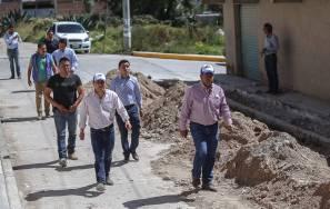 Alcalde Raúl Camacho supervisa obras en Mineral de la Reforma1