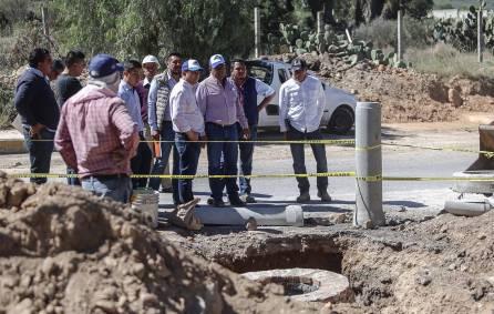 Alcalde Raúl Camacho supervisa obras en Mineral de la Reforma2