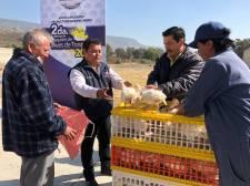 Apoya Mineral de la Reforma a familias con Segunda Entrega de Aves de Traspatio1