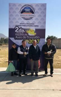 Apoya Mineral de la Reforma a familias con Segunda Entrega de Aves de Traspatio3