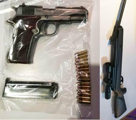 Asegura Sección Canina de Policía Estatal a sujeto armado; fue localizado en Pachuca