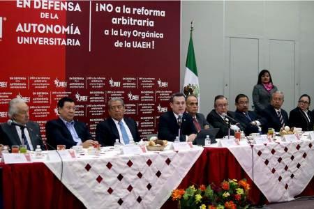 Autoridades de la UAEH interpondrán amparo en defensa de la autonomía2