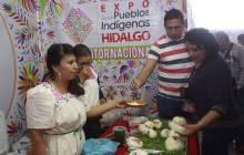 Continúa la Expo de los Pueblos Indígenas Hidalgo con gran éxito1