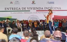 Entrega CDI vivienda indígena en Hidalgo2