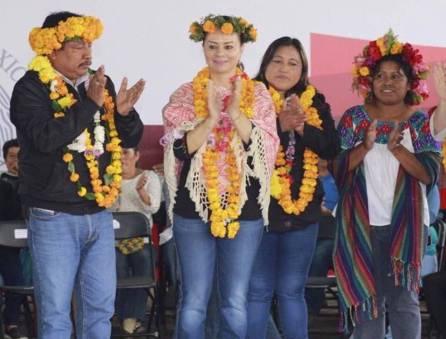 Entrega CDI vivienda indígena en Hidalgo3