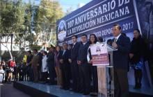 Entrega Raúl Camacho, premio municipal al Mérito Deportivo en el marco del 107 Aniversario de la Revolución Mexicana4
