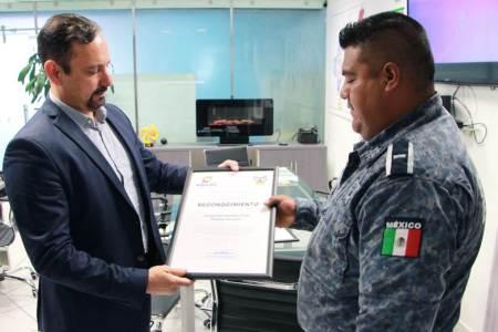 Entrega SSPH estímulos y reconocimientos a policías estatales destacados
