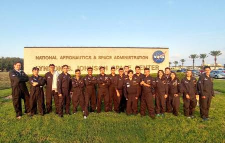 "Estudiantes de la UPMH logran primeros lugares en el ""International Air and Space Program 2017"" organizado por la NASA.jpg"