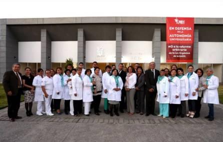Evalúan CIEES Enfermería de la Autónoma de Hidalgo2