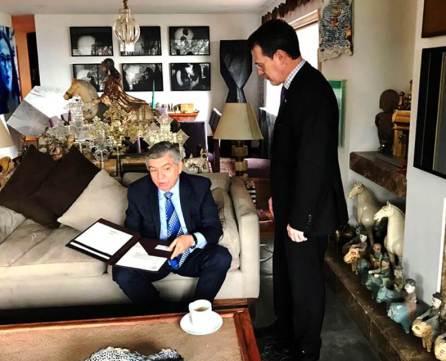 Ex secretario de la OEA, propuesto para Doctor Honoris Causa de la UAEH