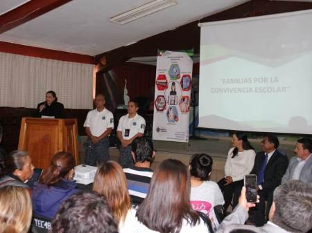 """Exitosa Primera Jornada """"Familias por la Convivencia Escolar"""" organizada por LA SEPH"""