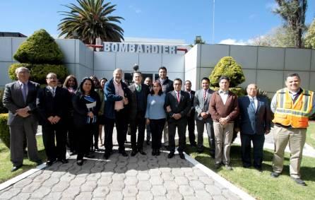 Firman UAEH y Bombardier convenio de colaboración3