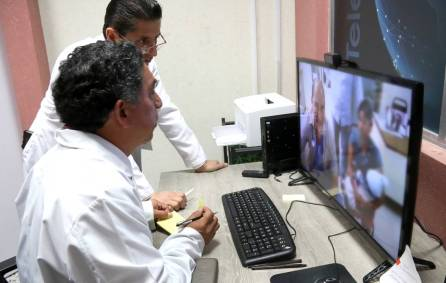 Gracias a la Telemedicina, menor con probable malformación congénita del cuello es atendido por especialistas de la SSH3