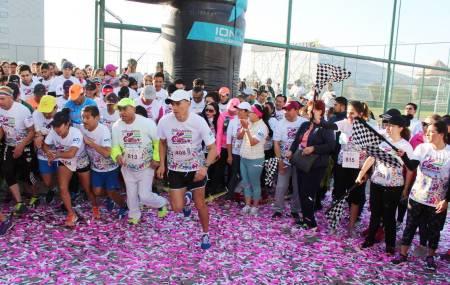 Gran respuesta en la carrera atlética con causa Impulso Rosa2