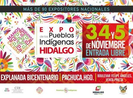 Hidalgo, sede de la Expo de los Pueblos Indigenas