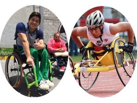 Hidalguenses, uno participará en Parapanamericano de tenis de mesa y otro en atletismo de ruedas en el CEPAMEX
