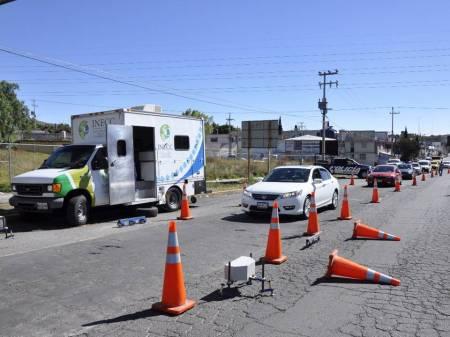 Inicia medición de gases contaminantes de vehículos en Hidalgo