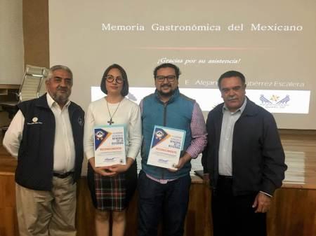 Ofrece turismo de Mineral de la Reforma conferencias por Día Nacional de la Gastronomía Mexicana2