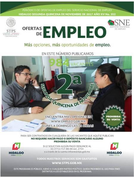 Periódico digital ofrece vacantes cada quincena