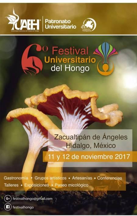 Presenta UAEH nueva programación del VI Festival del Hongo