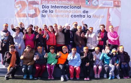 """PRI conmemora """"Día Internacional de la Eliminación de la Violencia Contra la Mujer"""" con mega clase de zumba 1"""
