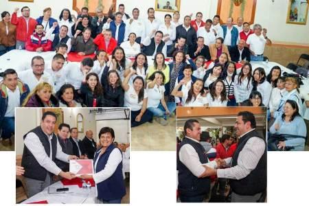 Reconoce Leoncio Pineda Godos trabajo y convicción de la CROC-2