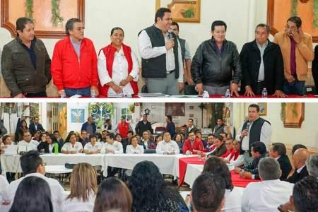 Reconoce Leoncio Pineda Godos trabajo y convicción de la CROC