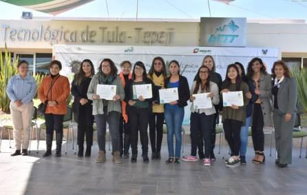 Reconoce SEPH el talento de mujeres estudiantes en proyectos de ciencia y tecnología 1