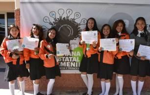 Reconoce SEPH el talento de mujeres estudiantes en proyectos de ciencia y tecnología 2