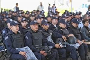 Seguridad pública, eje rector de la administración municipal en Mineral de la Reforma, Raúl Camacho Baños
