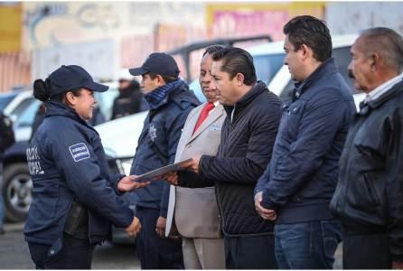 Seguridad pública, eje rector de la administración municipal en Mineral de la Reforma, Raúl Camacho Baños2