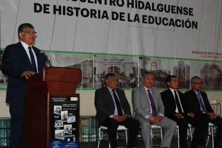 SEPH realiza el IV Encuentro Hidalguense de Historia de la Educación2