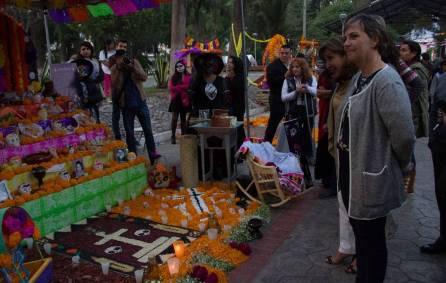 Tradiciones por Día de Muertos cobran vida en Pachuca 1