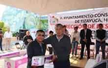 350 familias tizayuquenses beneficiadas con el programa 4
