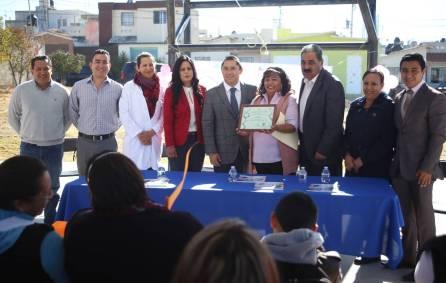 Alcalde de Mineral de la Reforma encabeza ceremonias de certificación como Comunidad Saludable 3