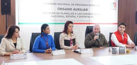 Órgano Auxiliar del PRI instaló sesión permanente para recibir solicitudes de registro de planillas