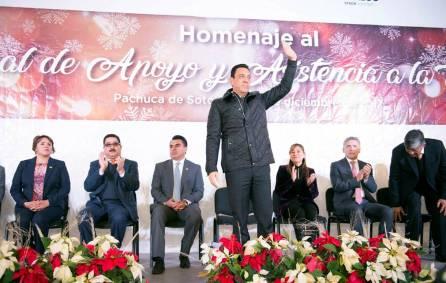 Carrera Administrativa histórico logro para personal de Apoyo y Asistencia a la educación en Hidalgo4