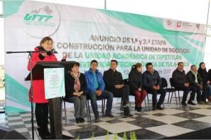 Con Unidad Académica, gobierno de Hidalgo beneficia a estudiantes de Tepetitlán