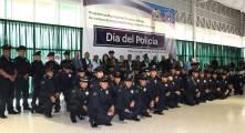 Conmemoran el Día del Policía en Tizayuca y entregan reconocimientos a policías destacados5