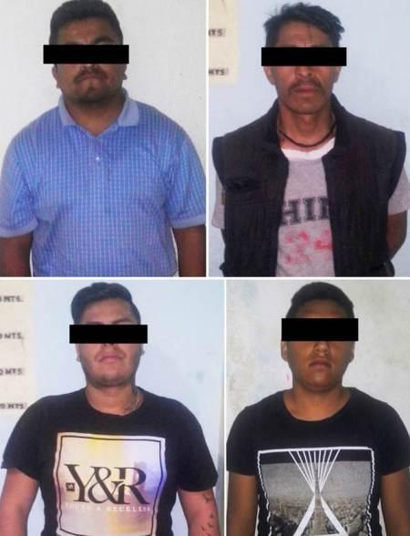 Detienen a cuatro por probable actividad ilícita contra operadores del servicio público en Tizayuca