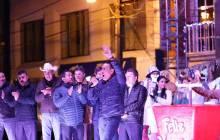 Encabeza Omar Fayad, encendido del árbol navideño en Zacualtipán2