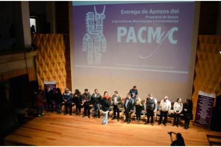 Entrega Secretaría de Cultura 2,9 mdp a promotores populares e indígenas2
