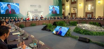 Fayad participó en la XLIII Sesión del Consejo Nacional de Seguridad Pública4
